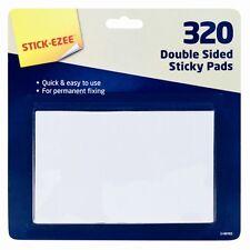 Lot de 320 double face collant pads montage adhésif mousse effet 3D craft onglets-uk