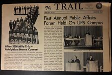 1965 The Trail University Of Puget Sound Bill Ramseyer Herring On Cover 02238