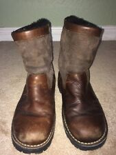 Ugg 5143 men's Brown Leather Suede Boot size 10