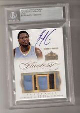 Kenneth Faried 12/13 Flawless Patch Auto RC #31 Serial #02/10