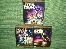 DVD Star Wars - Guerre Stellari saga completa trilogia 4-5-6 avventura