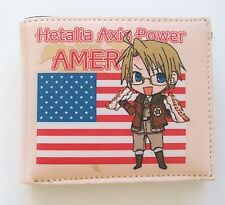 Axis Power Hetalia Vinyl Multi Compartment Uni Sex Wallet ~Hetalia America~