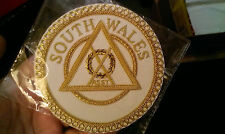 Masonic Dress Apron Badge - Province of South Wales - Royal Arch , Assistant DC