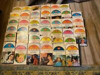 38 Vintage Valentine Book Romance Book Lot. All paperback in the 100's