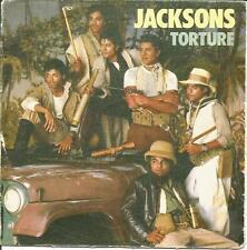 "THE JACKSONS - TORTURE + TORTURE INSTRUMENTAL SINGLE 7"" VINYL SPAIN"