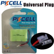 Cordless Phone Battery 3.6V 2/3AA*3 750mAh NI-MH Universal plug For Vtech 1712