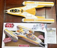 Star Wars Clone Wars Rebel Y-Wing Bomber 2009 open box, complete