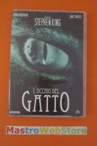 L'OCCHIO DEL GATTO - Stephen King - 1984 - PULP VIDEO - DVD [dv04]