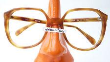 Vintagefassung Glasses Frame Light Brown Marbled Oldschool Large Glasses Size M