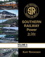 SOUTHERN RAILWAY POWER, Vol. 2 - ROADSWITCHERS -- (NEW BOOK)