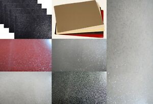 Wipe Clean PVC Plain Sparkly Glitter Dining Table Place Mats Table Ware 30x43cm