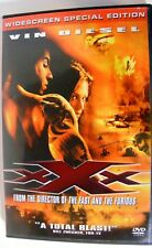 xXx Dvd Vin Diesel-Asia Argento 2002 Widescreen Special Edition Orig Case
