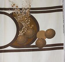 vintage 1971 Heals Ikebana Barbara Brown abstract print fabric length
