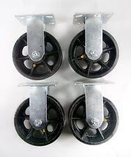 6 X 2 V Groove Caster Rigid 4ea