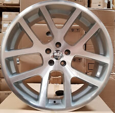 22 SRT10 Viper Style Rims Silver Wheels Fit Dodge Challenger Charger 300C