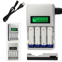 Universal Akku Batterie  LCD Ladegerät für 4 AA AAA Schnelladegerät