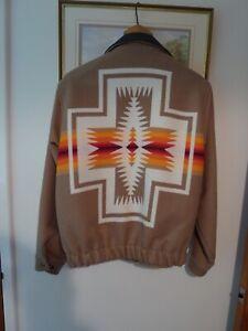 Pendleton High Grade Western Wear Jacket Size Medium Featuring 'Harding' Design