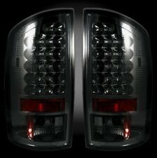 07-08 DODGE RAM 1500 2500 RECON LED TAIL LIGHTS SMOKED