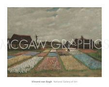 "VAN GOGH VINCENT-FLOWER BEDS IN HOLLAND, c. 1883, ART PRINT POSTER 24""x30"" (364)"