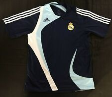 Maillot polo Real Madrid 2007-2008 football vintage Adidas jersey taille M