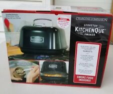 Charcoal Companion Stove Top Kitchenquie Indoor Smoker CC6685 NEW