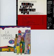 L.A. SUPERSAX & L.A. VOICES  / 35-8P-24 , JAPAN