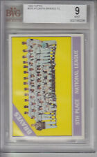 1966 Topps #326 Braves Team BRAVES BVG 9 MT Z13219 - BVG Mint (9)