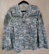 US Army Digital Camo ACU Shirt Jacket Size Medium Regular Long Sleeve