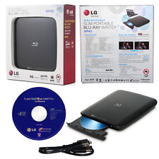 USED LG Super MultiBlue WP40NB30 BDXL Blu ray MDisc CD DVD Writer External Drive