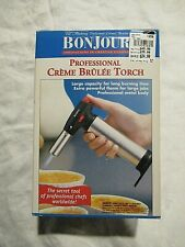 NIB BonJour Professional Creme Brulee Culinary Torch W/Instructions