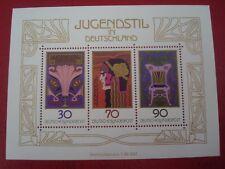 GERMANY - 1977 ART DECO - MINISHEET - UNMOUNTED MINT MINIATURE SHEET