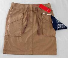 Esprit sport femmes Mini jupe beige taille 34 NEUF