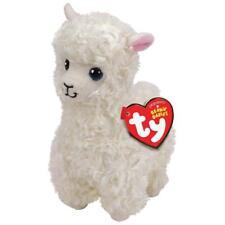 "Lily Juguete de Peluche de la Llama Alpaca, Ty Beanie Boo's Collection 6"" (15cm)"