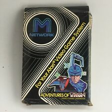 Vintage Atari 2600 game Adventures Of Tron M Network Cartridge Boxed Instruction