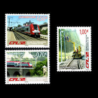 Luxembourg 2006 - Electrification of the Luxembourg Railway - Sc 1182/4 MNH