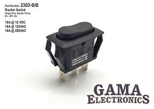 Single Pole Double Throw On-Off-On Rocker Switch 16A@125VAC 10A@250VAC/12VDC