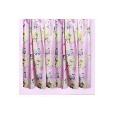 Rideaux et cantonnières rose pour la chambre à coucher