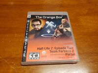 The Orange Box (Playstation 3, PS3) PS3 CIB Complete TESTED Half Life Portal