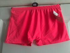 Ladies Neon Pink Hotpants - Size Medium - Brand New