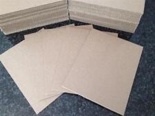 100 - 14 1/2 x 12 Corrugated Cardboard Kraft  Pads Inserts Sheet 32 ECT
