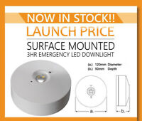 Emco EMLEDSF3NM Emergency LED Surface Mounted Bulkhead Light Downlight NM3