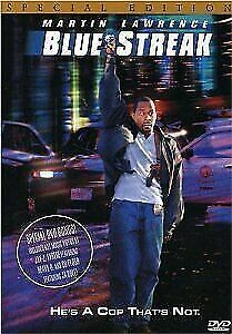 Brand New WS DVD Blue Streak Martin Lawrence Luke Wilson Peter Greene Dave Chapp