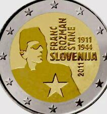 Slovenia Coin 2€ Euro 2011 Commemorative Frank Roznan New UNC From Roll