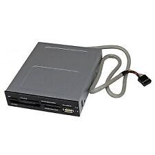 StarTech 35FCREADBK3 3.5in Front Bay USB Memory Card Reader