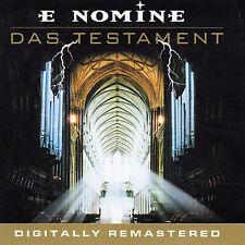 Das Testament [Remaster] by E Nomine (CD, Nov-2002, Universal/Polygram)