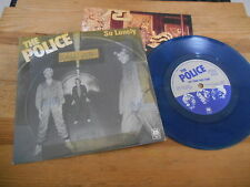 "7"" POP Police-aussi solitaire/no time this time (2 chanson) a&m Rec COLOR VINYL"