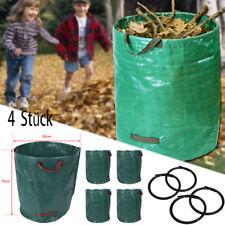 4x 270L Abfallsack Müllsack Sack Set Gartenabfallsack Laubsack Gartensack 360 DE