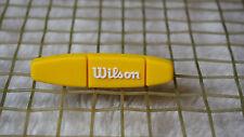 kiTki yellow long W Ilson tennis racquet vibration dampener shock absorber