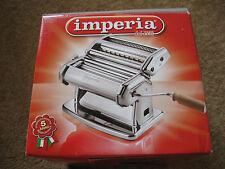 IMPERIA MACCHINA PER PASTA ITALIANA – Doppio Cutter MRP85.99 Nuovo di zecca non aperto