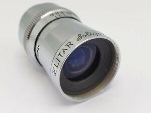 Soligor Elitar 7mm F2.5 Cine Lens for D Mount / Pentax Q Camera Adaptation